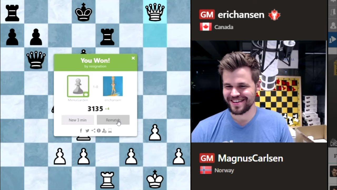 Download Magnus Carlsen crushes Eric Hansen