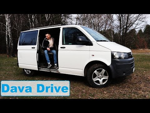 Dava Drive. Обзор Volkswagen Transporter T5  2.0 2011г 140 л.с