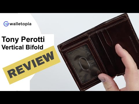 Tony Perotti Is An Excellent Card Wallet Masquerading As A Billfold