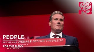 Keir Starmer's speech to Labour Conference 2019
