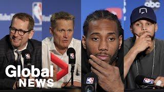 Raptors vs. Warriors Game 4: NBA Finals post-game press conference
