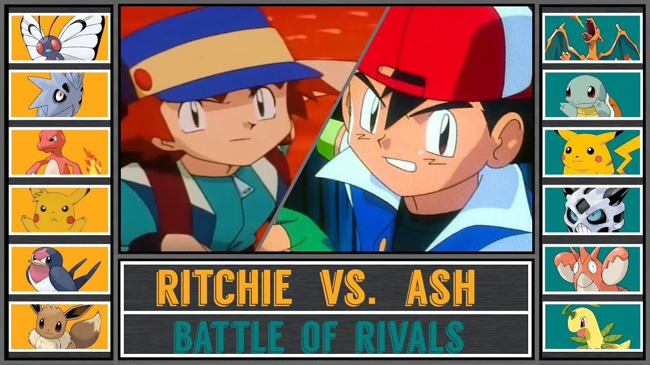 Jessie vs ash and pikachu