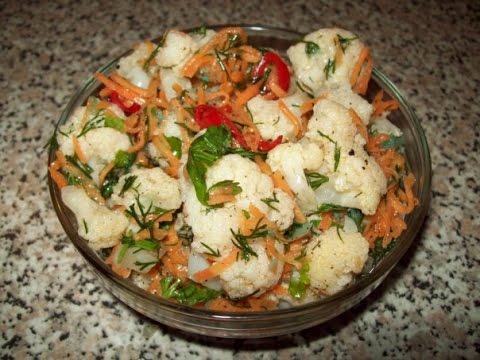 Блюда из цветной капусты — 52 рецепта с фото. Как