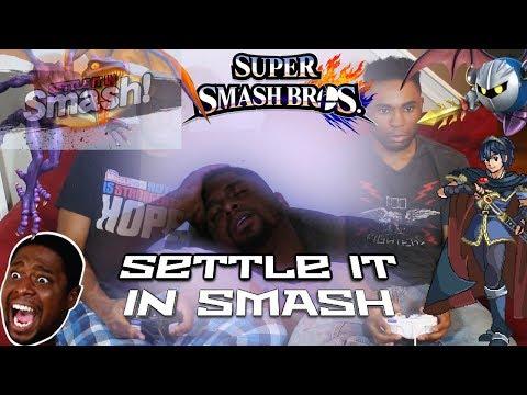 """LET'S """"SETTLE IT IN SMASH!"""""""