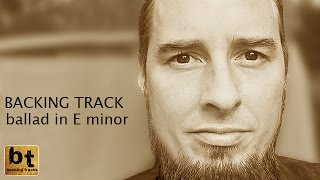 Instrumental Epic Ballad In E Minor Free Jamtrack
