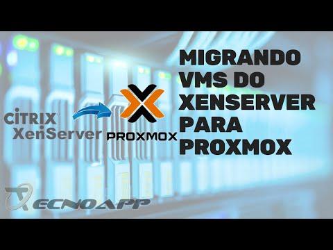 Como migrar VMs do Xenserver para o Proxmox