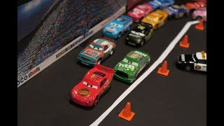 Gambar cover All of My Disney Cars Stop Motion Clips - Piston Cup Race, Pit Stop, Crash
