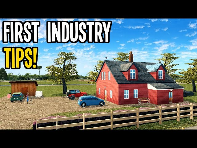 How To Start Your First Industry to Make Money in Cities Skylines!