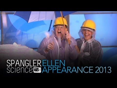 Ellen Appearance 2013 Recap - Cool Science Experiment