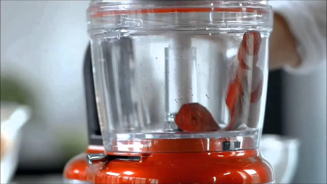 Procesador de alimentos kitchenaid video demostrativo - Procesador de alimentos lidl ...