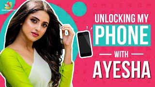 Unlocking Ayesha's Phone | Sathya Serial, Zee Tamil, Actor Vishnu, Sun Tv Maya serial