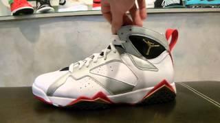 """Air Jordan VII Retro """"Olympic"""" Review at Exit 36"""