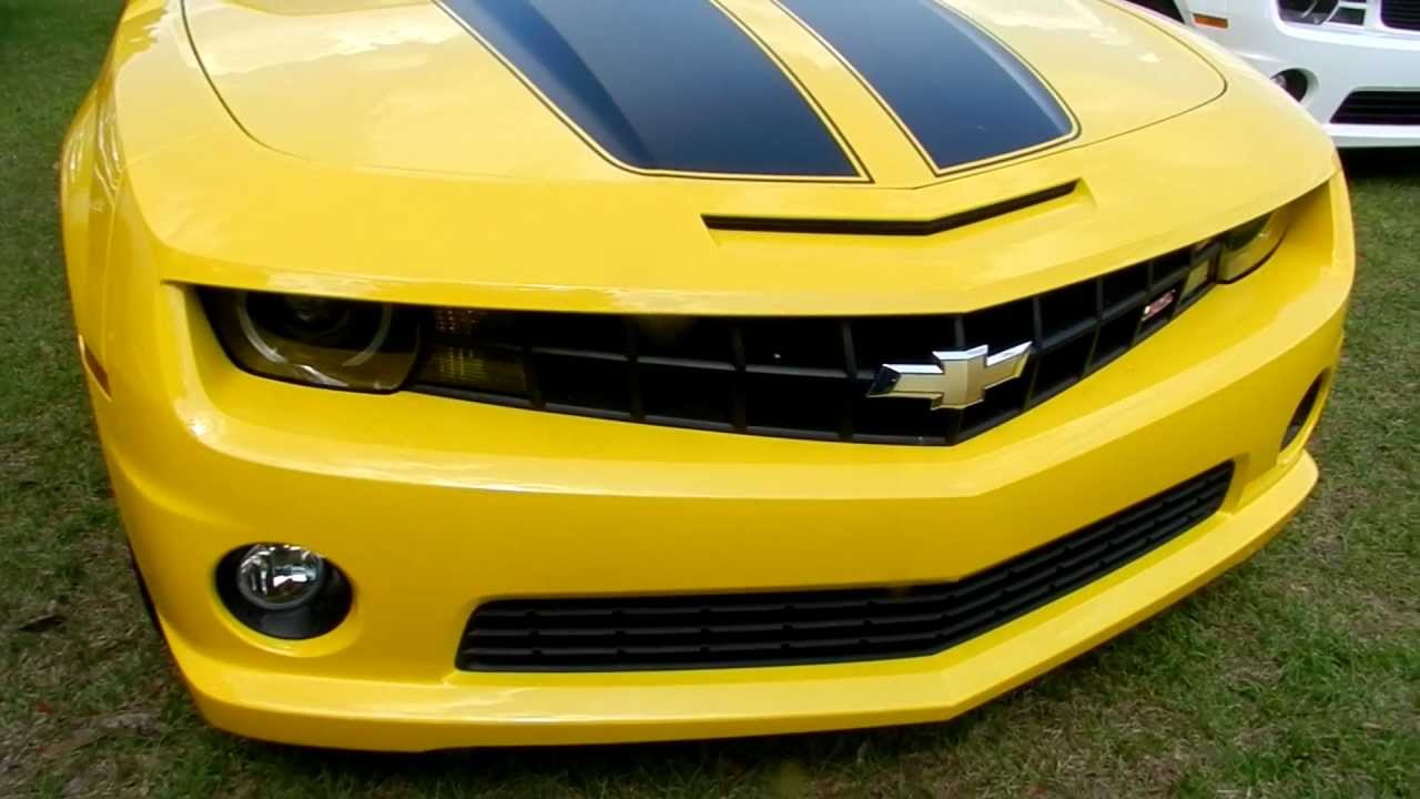 2011 chevrolet camaro ss yellow demo for sale review stock 11c365 youtube. Black Bedroom Furniture Sets. Home Design Ideas