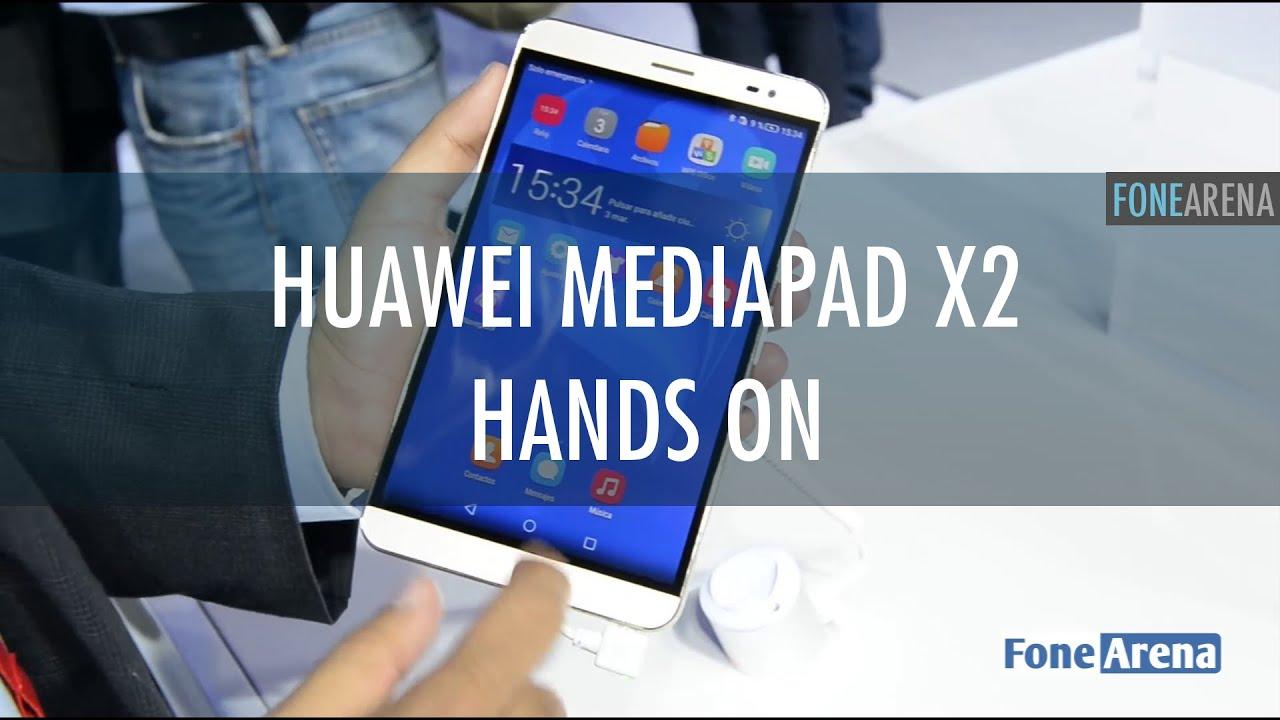 Huawei Mediapad X2 hands on