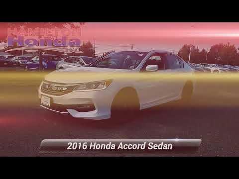 Certified 2016 Honda Accord Sedan Sport, Hamilton Township, NJ 27172T