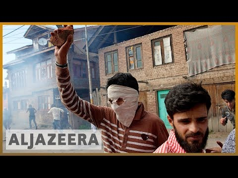 Ongoing violence as protests continue in Kashmir