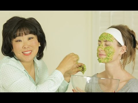 Organic Face Mask: Cilantro & Sticky White Rice Mask