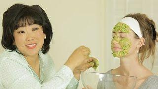 Organic Face Mask: Cilantro & Sticky White Rice Mask
