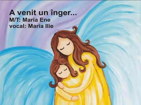 A VENIT UN ÎNGER – Cantece pentru copii in limba romana