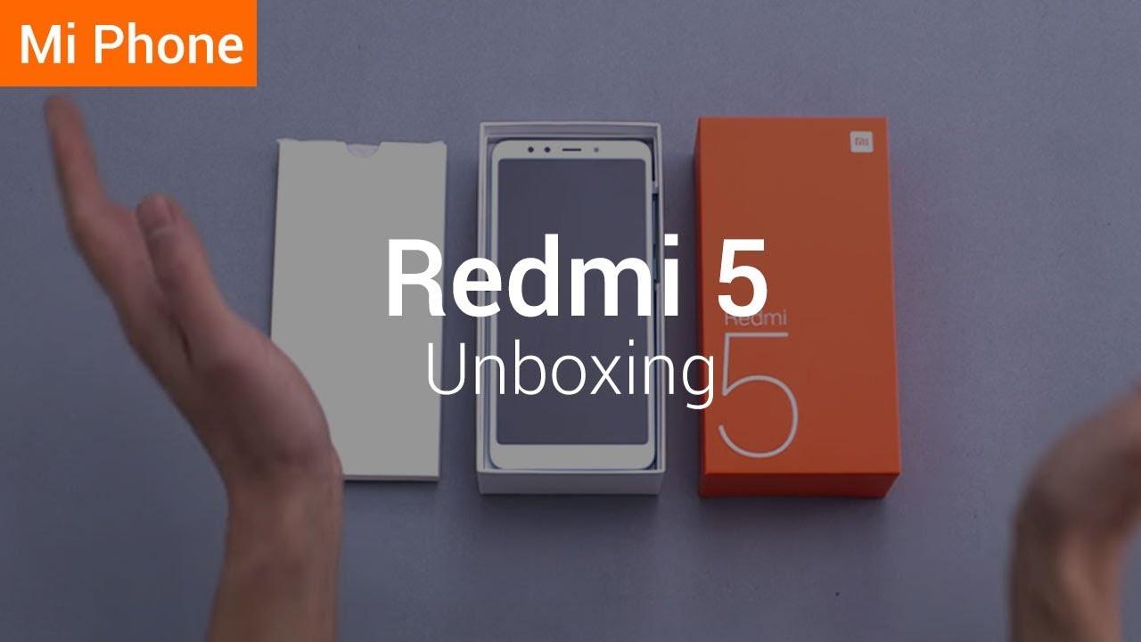 b3248c60adf Redmi 5  Unboxing the Redmi 5 - YouTube