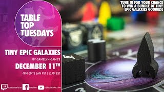 TableTop Tuesdays - Tiny Epic Galaxies by Gamelyn Games