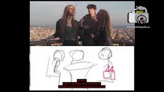 Storyboard del Videoclip Cuerpo de Ciudad. Making of