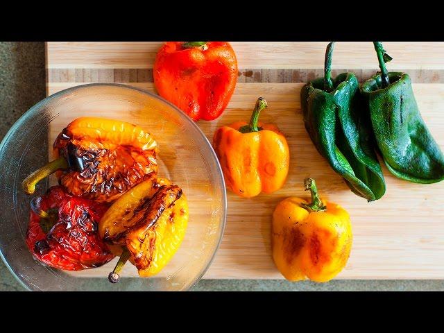 Como assar pimentão: 3 métodos