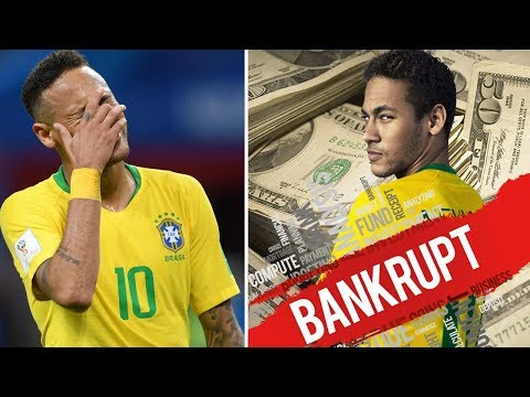 When Neymar almost went bankrupt - Oh My Goal