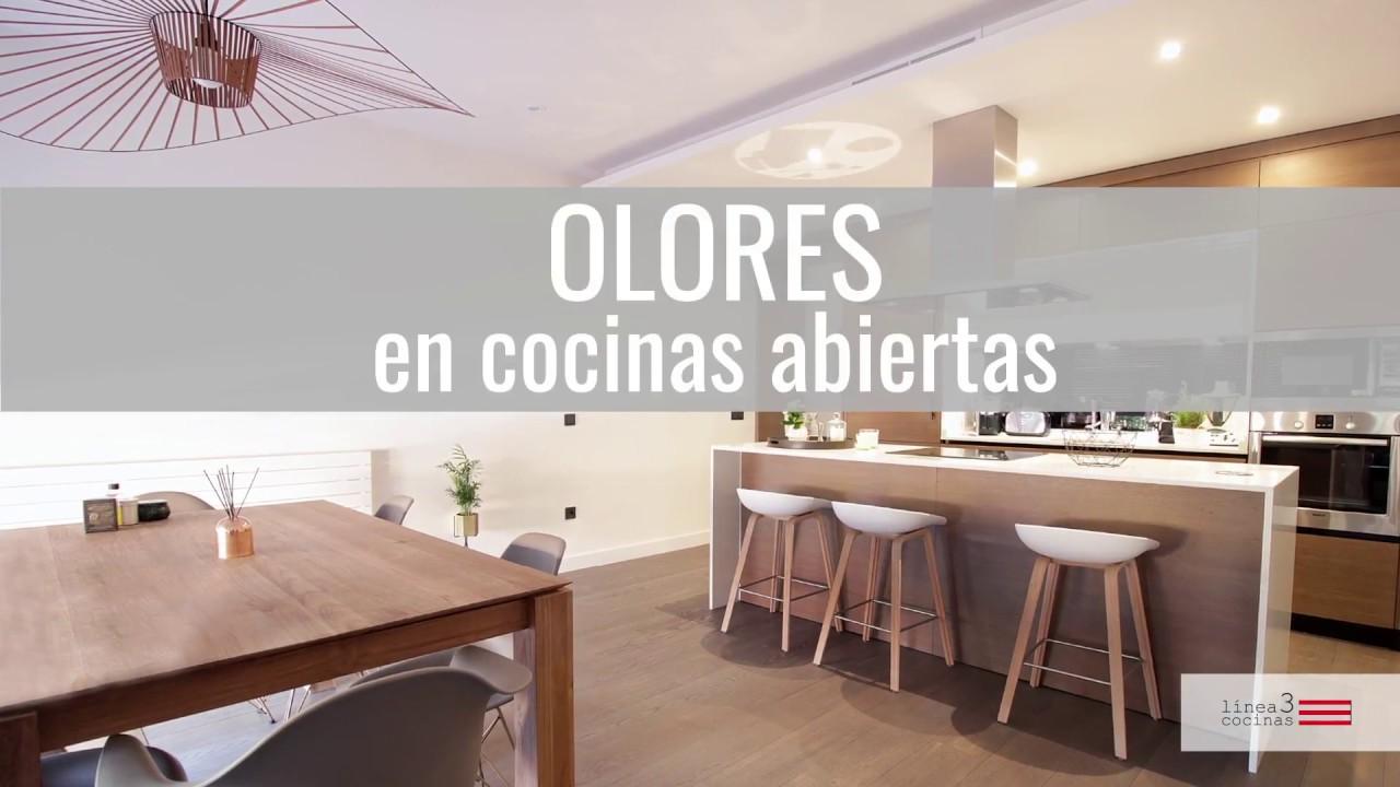 Oler mi sal n si me decido por una cocina abierta youtube for Cocina abierta modelo salon