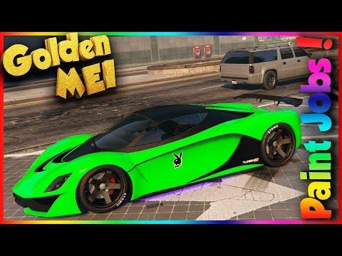 Paint Job Verde 7 Crew GTA V Online