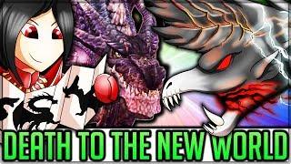 Fear the Black Dragons - Fatalis/Dire Miralis/Alatreon in Monster Hunter World! (Lore/Theory/Fun)