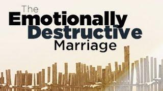 The Emotionally Destructive Marriage Webinar