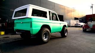Ethan Dolan Builds Grayson Dolan Dream Car! - Bronco by West Coast Customs