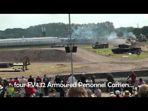 Bovington Tankfest 2013 - Arena Show Part 1