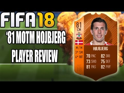 FIFA 18 MOTM PIERRE-EMILE HOJBJERG (81) PLAYER REVIEW | Fifa 18 Ultimate Team