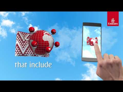 Experience the worlds first interactive amenity kit I Economy Class   Emirates Airline