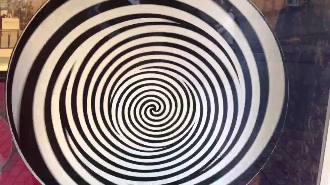 optical illusion hand spin