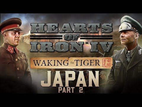 HOI4: Waking the Tiger - New Japan Focus Tree Part 2