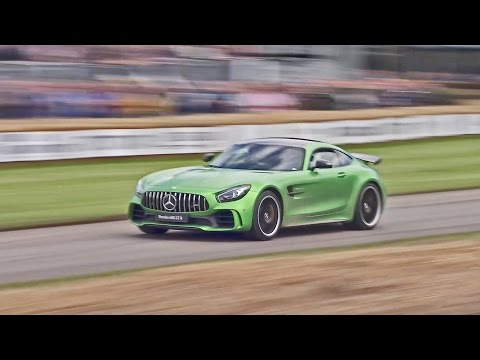 2017 Mercedes-AMG GT R at the Festival of Speed