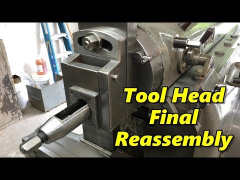SNS 213: Shaper Tool Head Final Reassembly, Machine Tool Books
