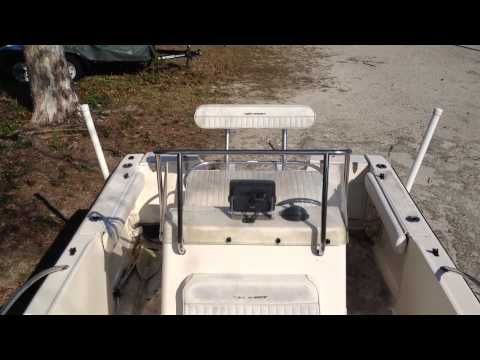 2005 Key West 2020 CC Blue Water Boat & Trailer, Up for Auction
