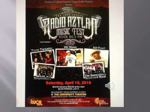 radio aztlan music fest Saturday, Apr. 16, 2016