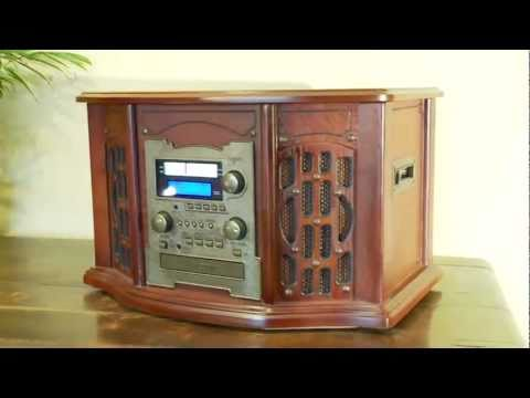 Deluxe Music Centre - Vinyl to Digital - Record Deck and Tape Player