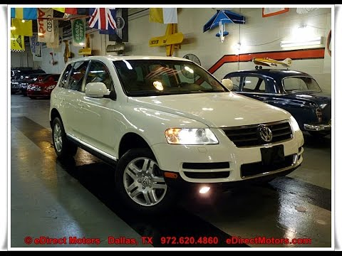 2006 Vw Touareg V8 Premium Edirect Motors Youtube
