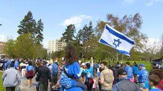 Thousands take part in UJA's Walk with Israel