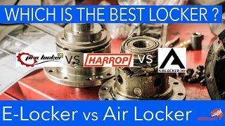 Harrop Eaton E Locker vs ARB Air Locker vs TJM Pro Locker REVIEW [2018] | ALLOFFROAD #142