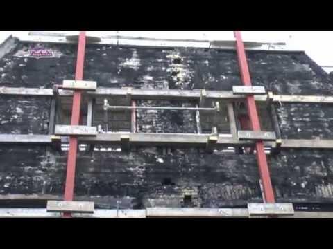 Monumentaal winkelpand Schrans 22 24 Leeuwarden 2013_1 jaar na brand
