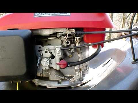 "21"" Troy Bilt 5.0HP honda OHC lawnmower | FunnyCat.TV"
