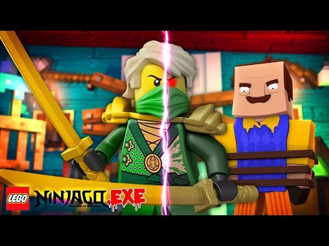 Minecraft Hello Neighbor - NINJAGO .EXE LLOYD HAS TURNED TO THE DARK SIDE