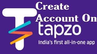 How to create account of Tapzo app in Hindi | Tapzo app pe apna account kaise banaye